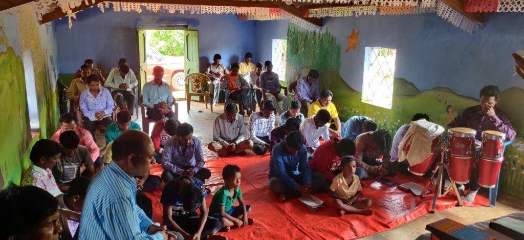 Bijbelschool in Dasamanthapur
